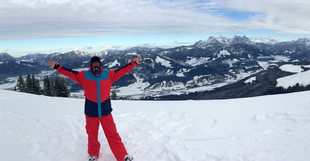 St. Johann i.T. - Oberndorf - Firsthand Ski Report - ©Barry's Iphone