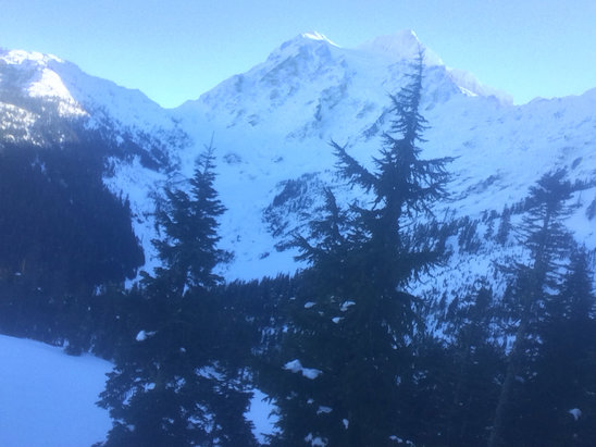 Mt. Baker - Firsthand Ski Report - ©Sonjia's iPhone