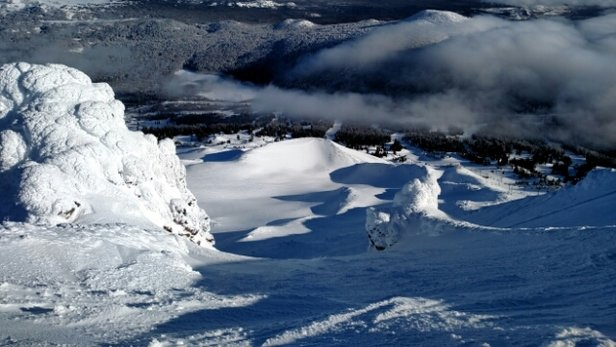 Mt. Bachelor - perfect day off the summit!! - ©rdeco1271