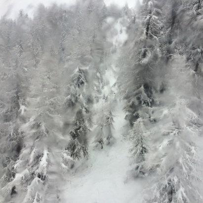 Plan de Corones / Kronplatz - Tanta neve oggi in cima!!!!! Per prossimi giorni promettono tempo bello!  - ©iPhone di Kiryl