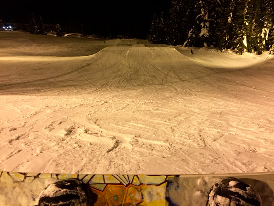 The Summit at Snoqualmie - Great night .. - ©Jeff Stewart's iPhone