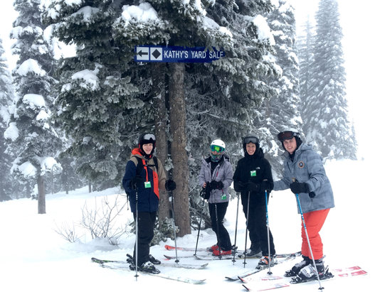 Schweitzer - Firsthand Ski Report - ©Ben Gibson's iPhone