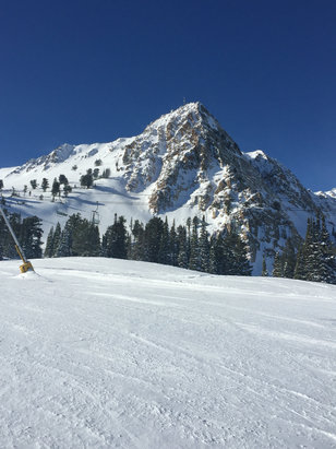 Snowbasin - Firsthand Ski Report - ©Administrator's iPhone