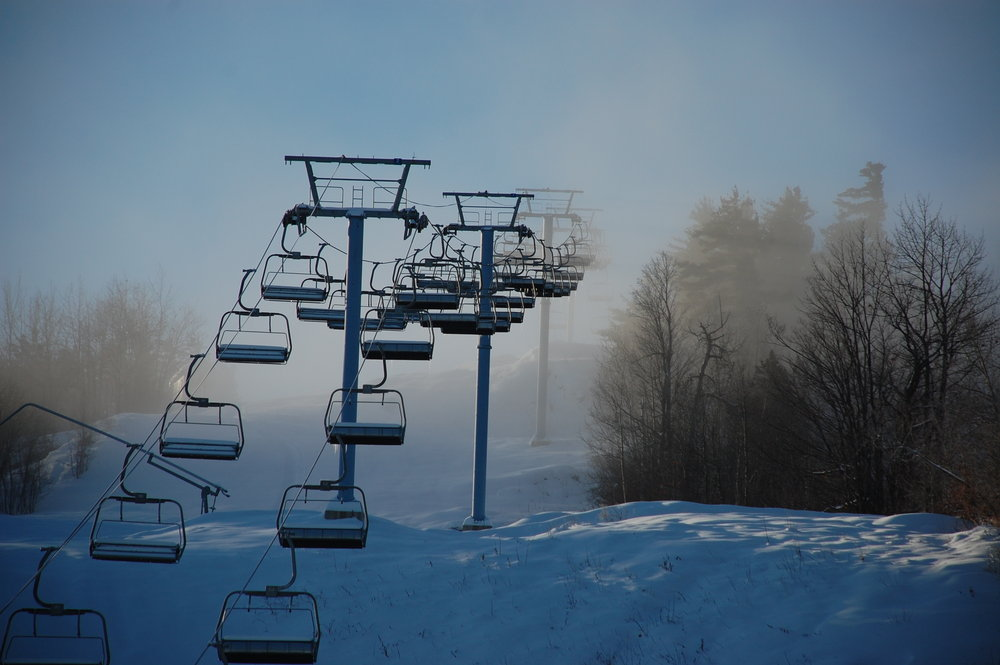 The chairlift at Calabogie, ONT.