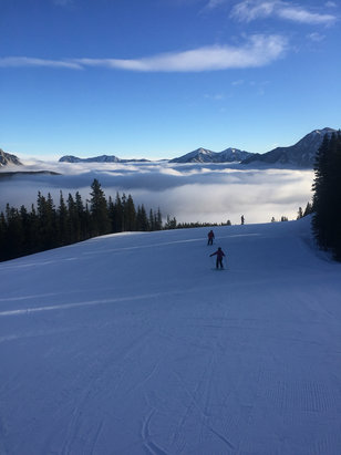 Nakiska Ski Area - Beautiful morning.  - ©Chris's iPhone 6+