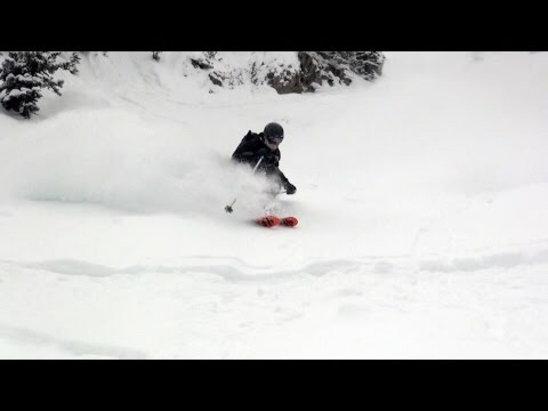 Bridger Bowl - Powder hounding @ BB! - ©Craig's iPhone