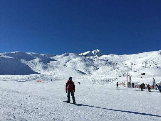 Peisey Vallandry - Firsthand Ski Report - ©Ainslie's iPhone