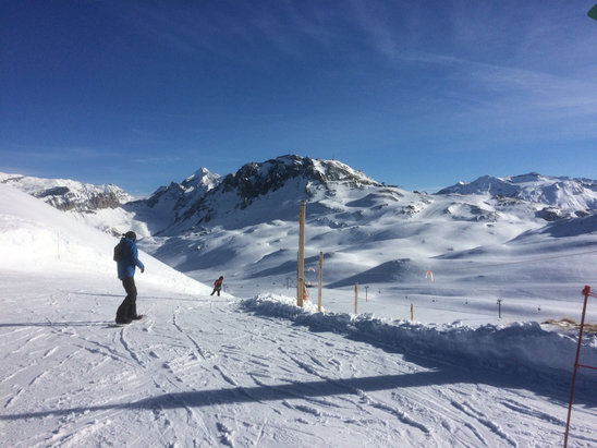 Tignes - Awesome day  - ©iPhone