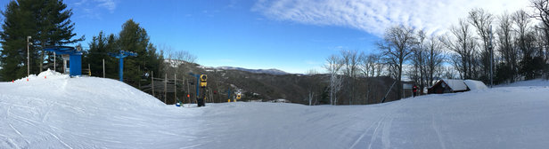 Cataloochee Ski Area - Firsthand Ski Report - ©McKrae