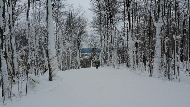 Peek'n Peak - A gorgeous day on the slopes, snow was grrreeeaaaatt! Winters beauty. - ©T.W.O.