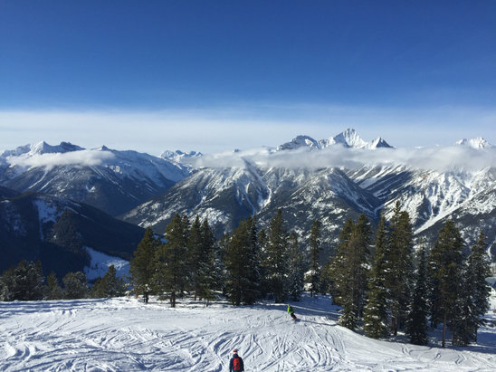 Panorama Mountain - Firsthand Ski Report - ©Dan's iPhone