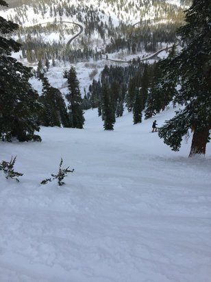 Mt. Rose - Ski Tahoe - Amazing.  Best conditions of the year!!! - ©iPhone