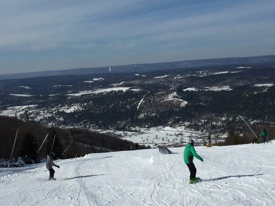 Blue Mountain Ski Area - I have a great day!!! - ©iPhone