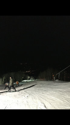Sugar Mountain Resort - Wonderful night at Sugar!  Staff was extremely nice and very professional, they where extremely nice to our group!  Wasn't to crowded for a Saturday night…all of the lines moved very quick! VERY GOOD conditions…POWDER form top to bottom!  Can't wait to go back!! Would  - ©iPhone
