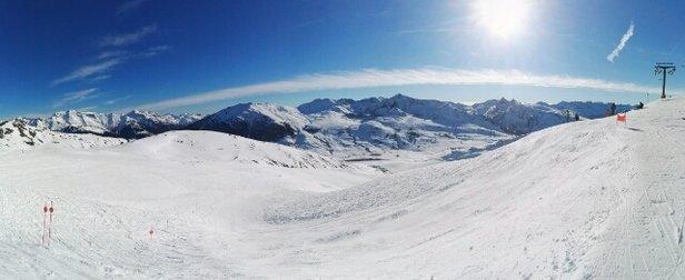 Baqueira - Beret - superbe journée pas trop de monde neige super entre 2500 et 1800  - ©jeanchristian.sanz