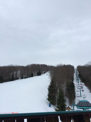 Holiday Valley - No crowds, 52, and really great time! - ©opski