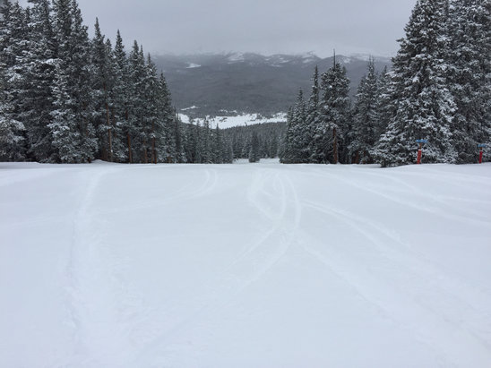 Ski Cooper - Lots of fresh tracks to be had today. If only they would update their chairs. - ©Lighthouse