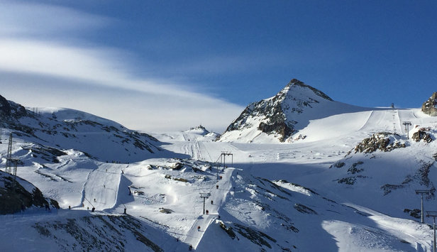 Zermatt - Bluebird day after intense snow yesterday! - ©Jamie's iPhone