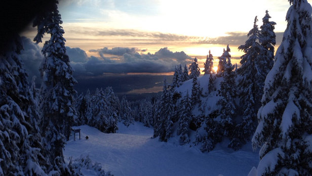 Mt Seymour - pretty unreal yesterday, mint conditions! - ©weeoo
