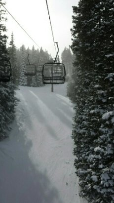 Eldora Mountain Resort - Today was perfect, no lines and empty parking lot!  - ©Alicat