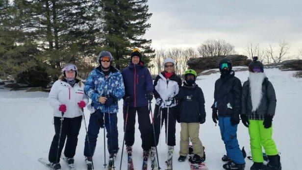 Eagle Rock - Great skiing in morning! - ©wjleyden