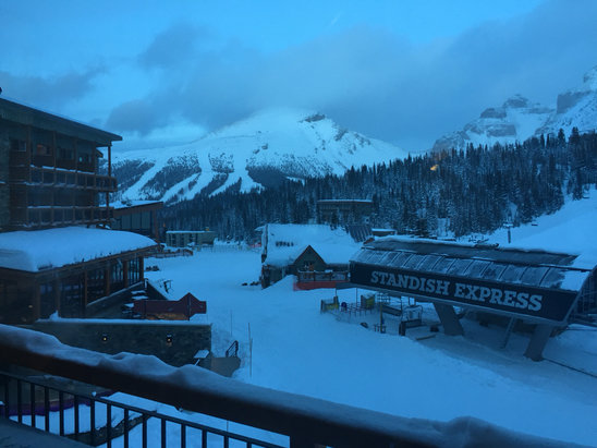 Sunshine Village - Firsthand Ski Report - ©mstephenson's iPhone