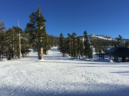 Heavenly Mountain Resort - Super Bowl! Empty. A little icy.  - ©Mariano Balcarce's iPhon
