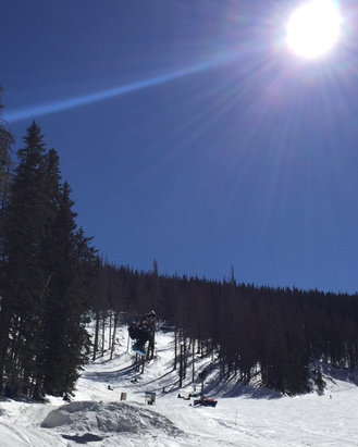 Ski Apache - Was there Saturday for a cherry day   - ©iPhone