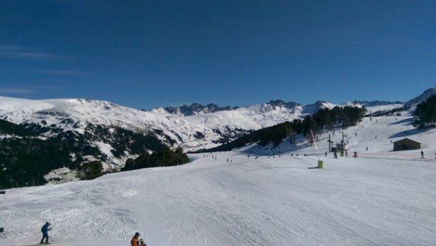Grandvalira - weather is great and more snow to come over the next few days.  - ©Andy C