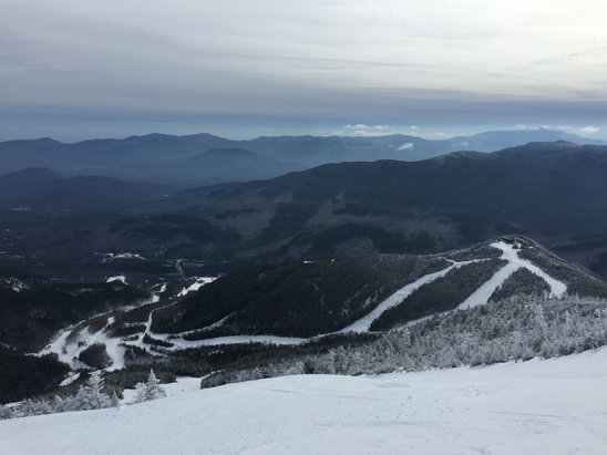 Whiteface Mountain Resort - Conditions were great all over the mountain today. Very little scratch with good coverage just about everywhere.  - ©T-mans-iPhone
