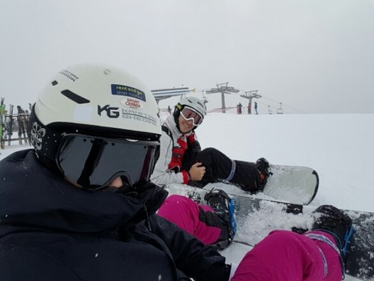 Cavalese - Alpe Cermis - Firsthand Ski Report - ©riqueghn