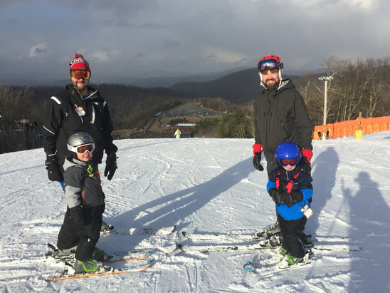Appalachian Ski Mountain - Great time and conditions at ASM last weekend! - ©James Merchant's iPhone