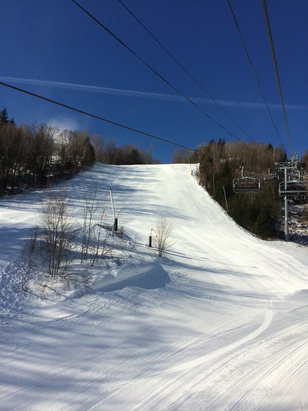 Hunter Mountain - Killer Racers like 2 degrees but with sun out so great - ©BF