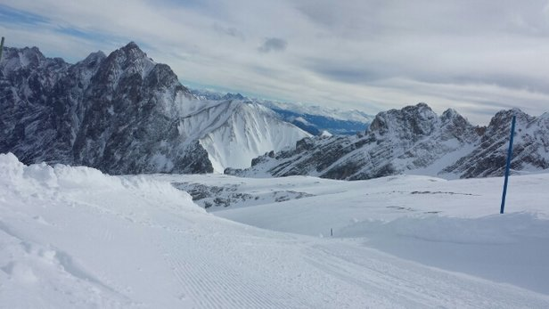 Zugspitze - fresh snow! - ©jacob