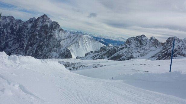 Zugspitze - fresh snow! - ©jacob