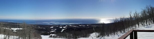Lutsen Mountains - cold Saturday but not windy we skied Friday that was colder and crazy wind Sunday looks perfect too bad I'll be not there - ©harveystr53