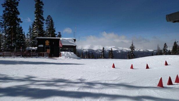 Ski Cooper - unreal day.  - ©gasrat88