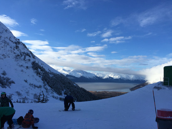 Alyeska Resort - Firsthand Ski Report - ©Wayne's iphone