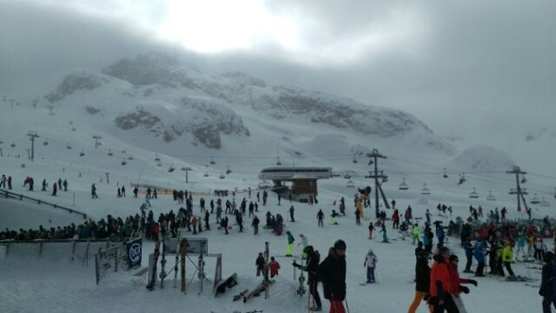 Ischgl - good snow. poor visibility in some parts - ©gerald.rehn