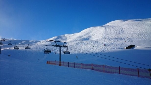 Warth - Schröcken - foggy today but the rest of the week awesome.  great skiing  - ©damien.mchale3616