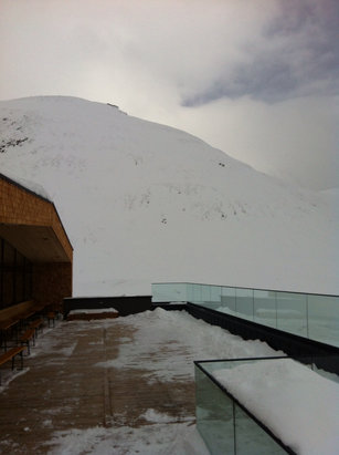 Obergurgl-Hochgurgl - Great new Schonwieshutte , well worth a visit  - ©Rowsie iphone
