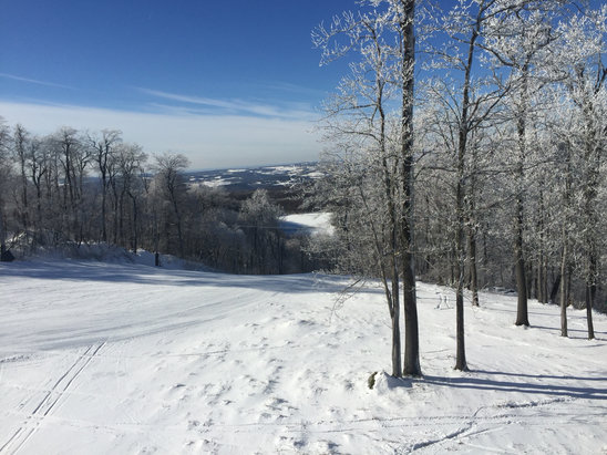 Seven Springs - Some of the best conditions of year. Fast, not crowded, only a couple of icy spots.   - ©ski friend