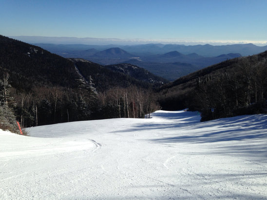 Whiteface Mountain Resort - Blue Bird Day, Solid Conditions...pretty spectacular.  - ©GARY's iPhone