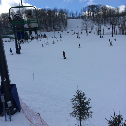 Perfect North Slopes - Great day last sat. Not too crowded for a holiday weekend  - ©Andrew's iPhone