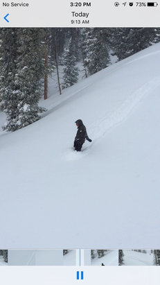 Monarch Mountain - Firsthand Ski Report - ©Porter's iPhone