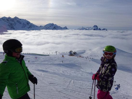 Warth - Schröcken - Great new snow - ©Peter's iPhone 5c