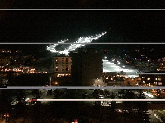 Steamboat - Also great to see night skiing at Steamboat. Going to try it next week. - ©AB's iPhone