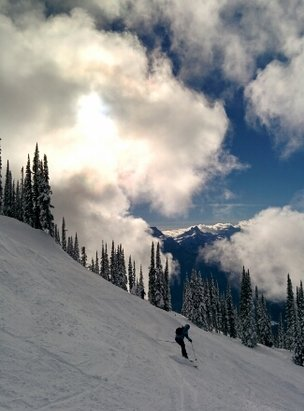 Revelstoke Mountain Resort - Skiied Tuesday and Thursday. Conditions are horrid. Icy and tracked out. Desperately in need of some fresh dumps. Wouldn't ski otherwise, if not for vacation time. - ©lonewolf