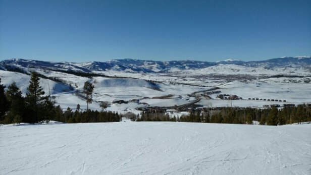 Ski Granby Ranch - Beautiful Bluebird day at Granby Ranch today.   No lift lines, no crowds = a whole lot of fun!  - ©Lance Winter