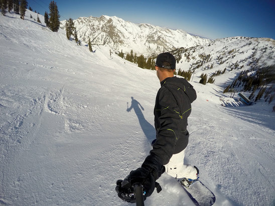 Snowbird - Perfect conditions and better than being in the office - ©edurkin